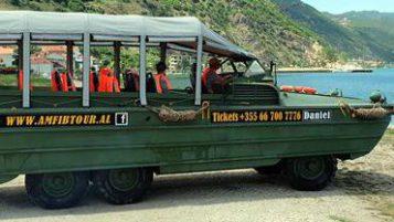Udhëtim i paharrueshëm me të vetmin mjet amfib turistik ne Ballkan